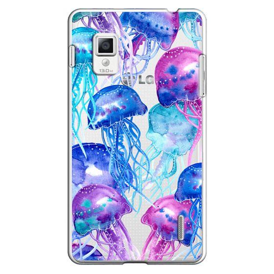 Optimus G Cases - Watercolor Jellyfish