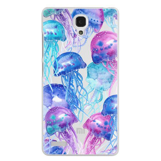 Redmi Note Cases - Watercolor Jellyfish