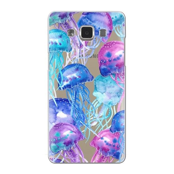Samsung Galaxy A5 Cases - Watercolor Jellyfish