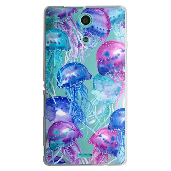 Sony Zr Cases - Watercolor Jellyfish