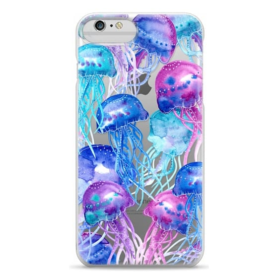 iPhone 6 Plus Cases - Watercolor Jellyfish