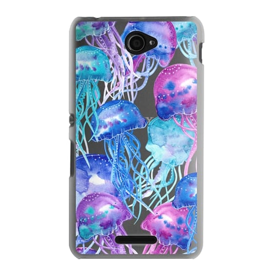 Sony E4 Cases - Watercolor Jellyfish