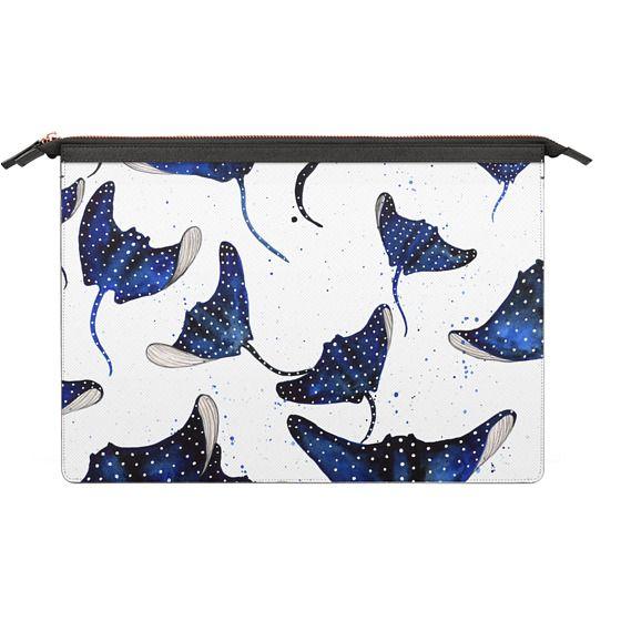 MacBook 12 Sleeves - Eagle Sting Rays Print