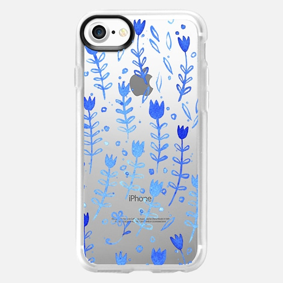 Blue Flowers - Classic Grip Case