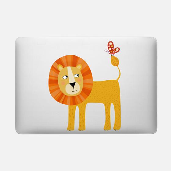 lion - Macbook Snap Case