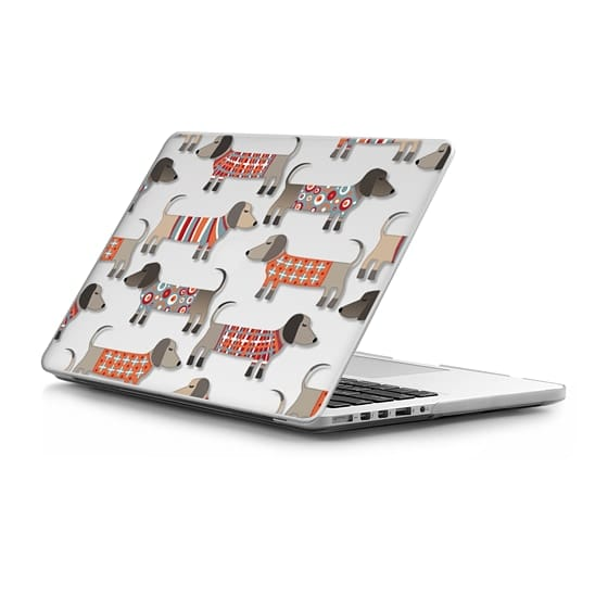 MacBook Pro Retina 15 Sleeves - Sausage Dogs in Sweaters