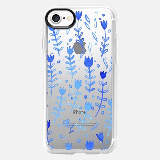 Blue Flowers - Classic Grip Case