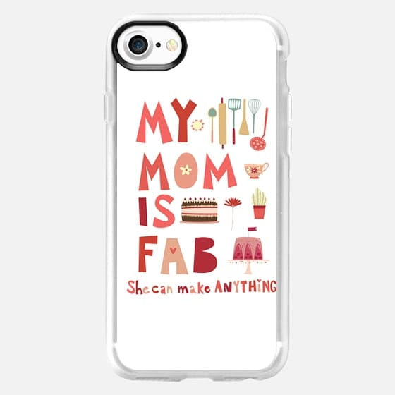 My Mom is Fab - Classic Grip Case