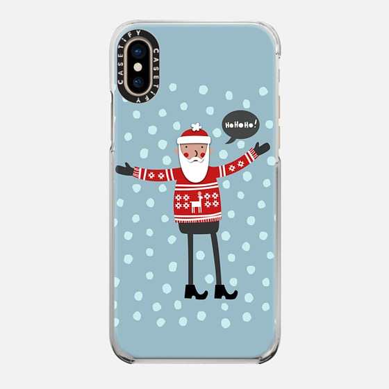 Casetify iPhone 7 Plus/7/6 Plus/6/5/5s/5c Case - Santa in...