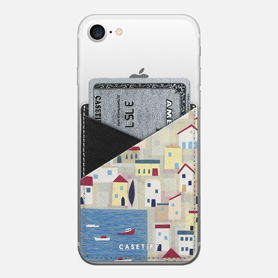 Halki - Saffiano Leather Phone Wallet