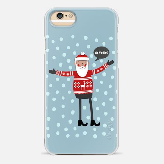 Casetify iPhone 7 Plus/7/6 Plus/6/5/5s/5c Case - Santa in...
