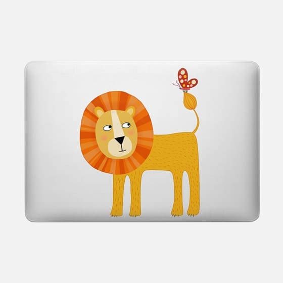 lion - Macbook Snap Case