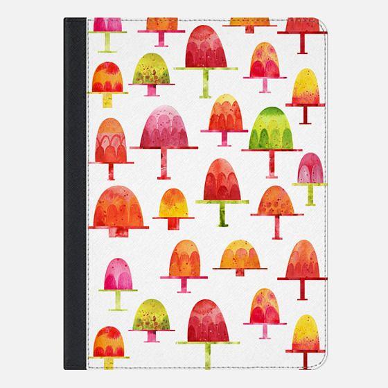 Jellies on a Plate - iPad Folio Case