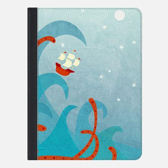 A Bad Day for Sailors - iPad Folio Case