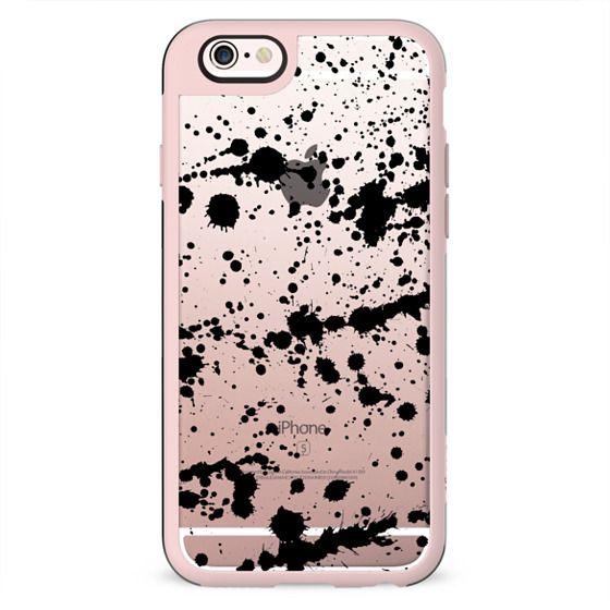 Splatter Black Phone Case