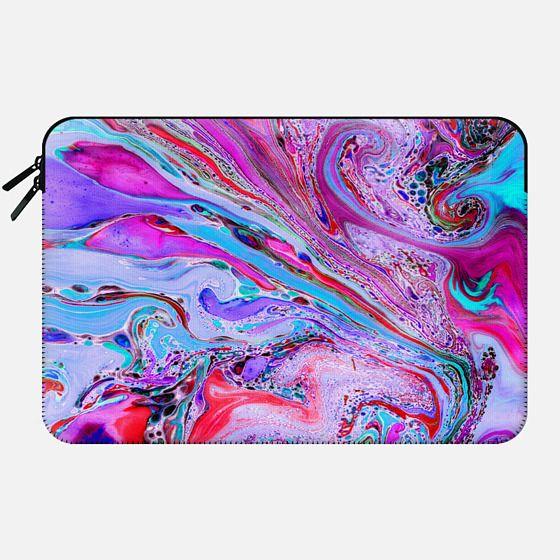Marble Lustre Laptop Case - Macbook Sleeve