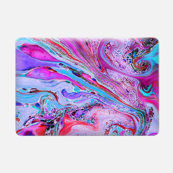 Marble Lustre Laptop Case -