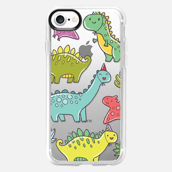 Cute dinosaurs - Wallet Case