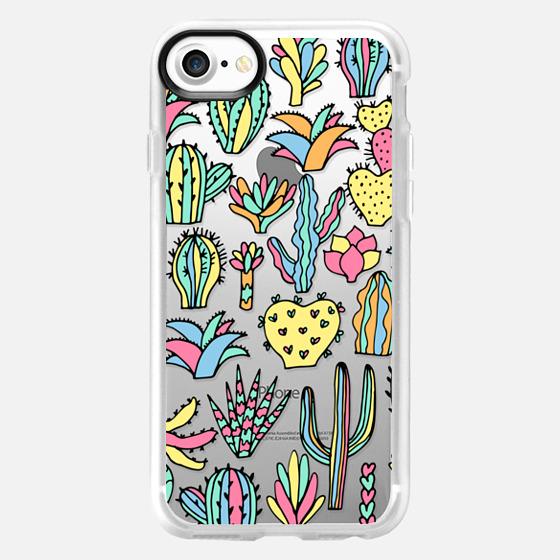 Colorful cacti - Classic Grip Case