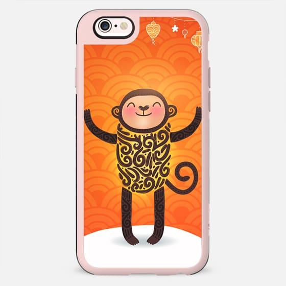 Cute winter monkey. Chinese New Year - New Standard Case