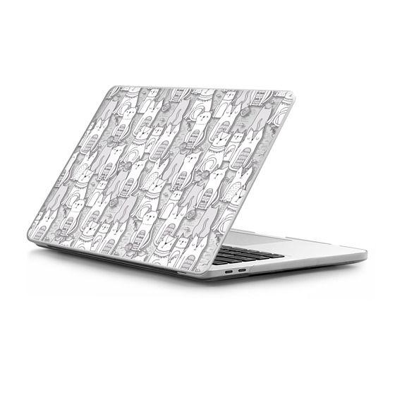 MacBook Pro Touchbar 13 Sleeves - Doodle cats.