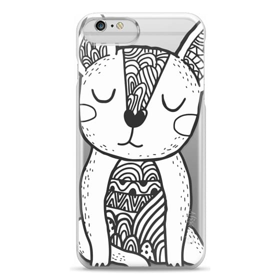 Classic Snap iPhone 6 Plus Case - Cute french bulldog  Funny doodle dog  character  Animal illustration