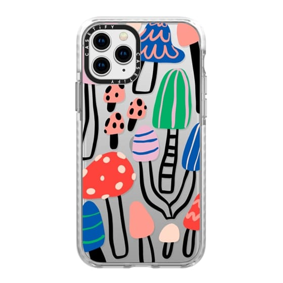 iPhone 11 Pro Cases - Cool patterned mushrooms