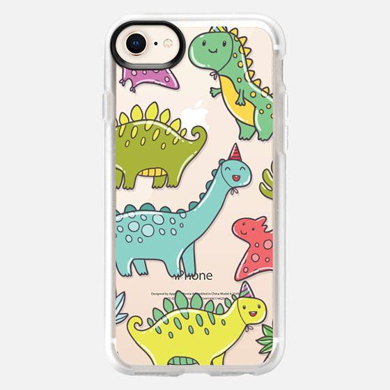 Cute dinosaurs - Snap Case