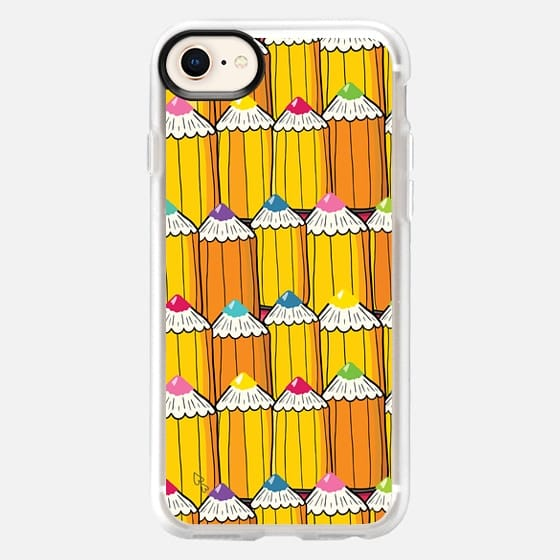 pencil pattern - Snap Case