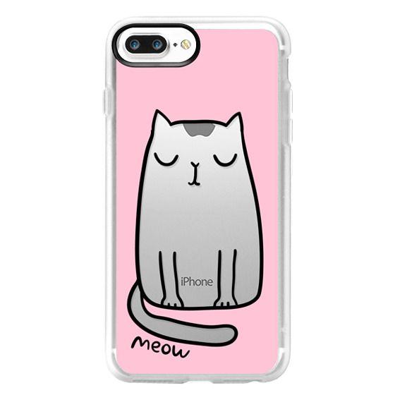 iPhone 7 Plus Cases - Cute cat