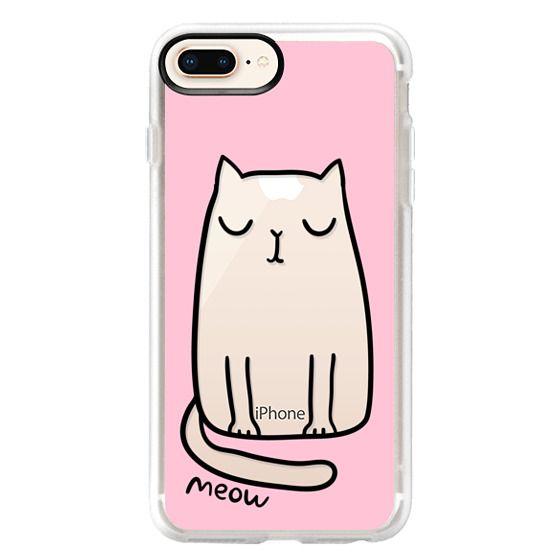 iPhone 8 Plus Cases - Cute cat