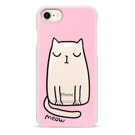 iPhone 8 Cases - Cute cat