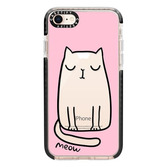 iPhone 8 Cases - Cute cat