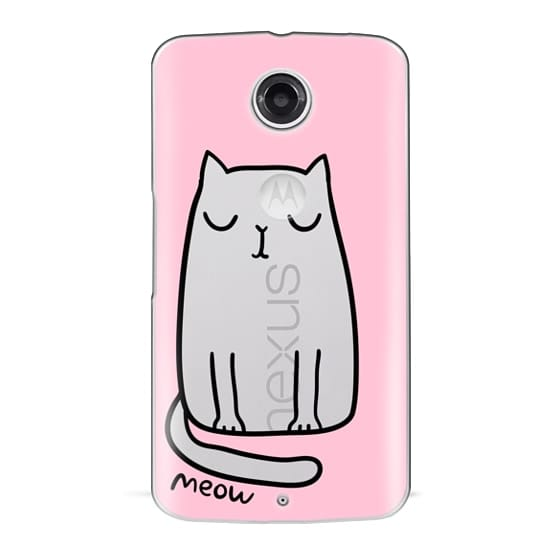 Nexus 6 Cases - Cute cat