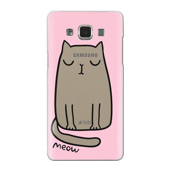 Samsung Galaxy A5 Cases - Cute cat