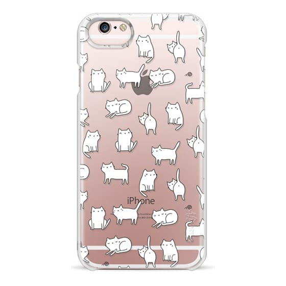 iPhone 6s Cases - Cute cats. Doodle hand drawn kittens.