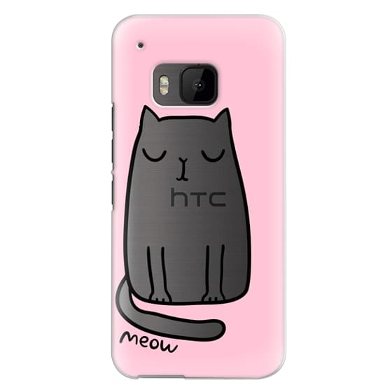 Htc One M9 Cases - Cute cat