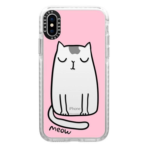 iPhone X Cases - Cute cat