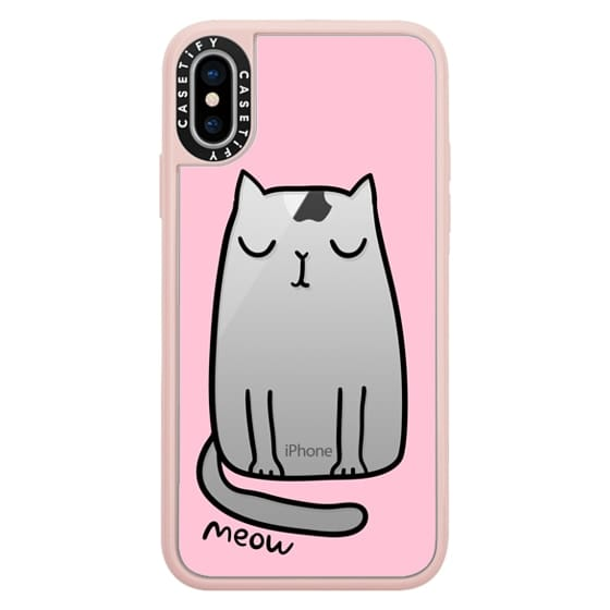 iPhone X Cases - Cute cat