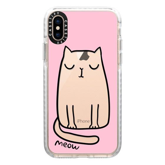 iPhone XS Cases - Cute cat