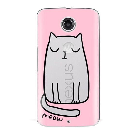 Nexus 6 Cases - Cute cat
