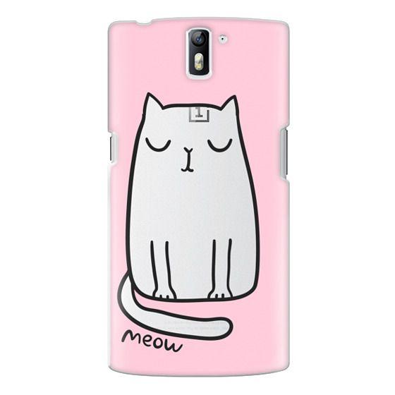 One Plus One Cases - Cute cat
