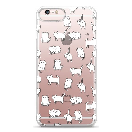 iPhone 6s Plus Cases - Cute cats. Doodle hand drawn kittens.