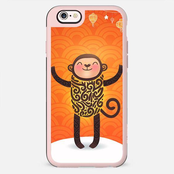 Cute winter monkey. Chinese New Year - New Standard Case