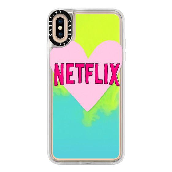 iPhone XS Max Cases - Netflix  Love