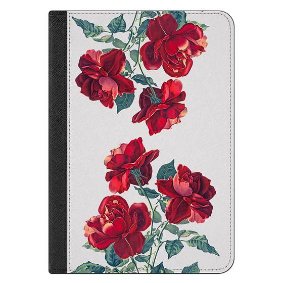 iPad Mini 4 Covers - Red Roses