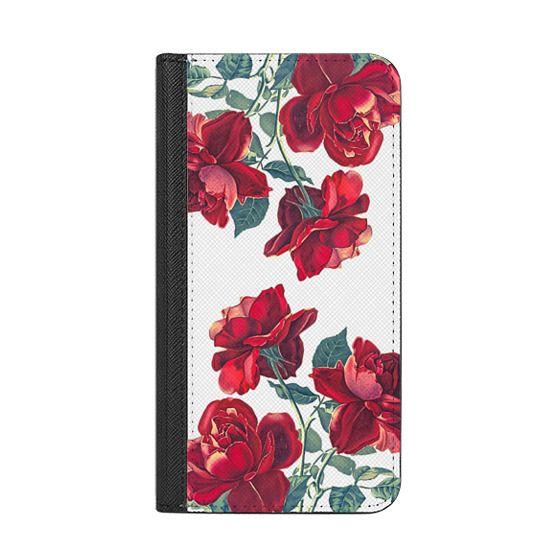 iPhone 7 Cases - Red Roses (Transparent)