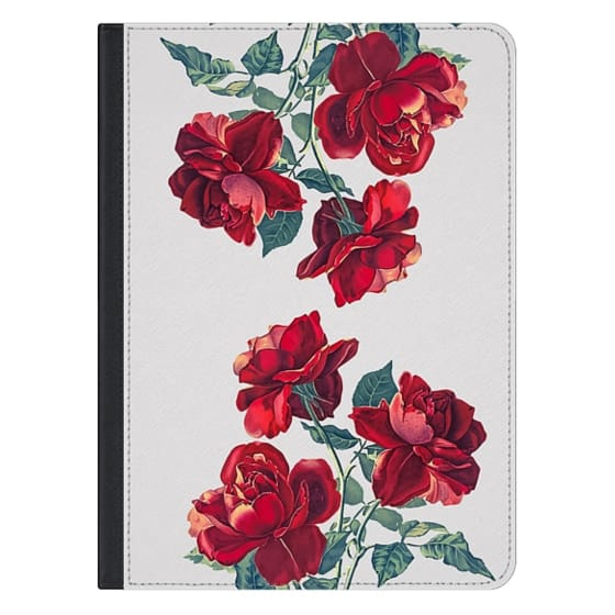 12.9-inch iPad Pro Covers - Red Roses