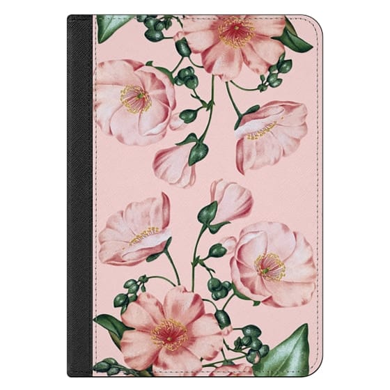 iPad Mini (2019) Covers - Pink Calandrinia