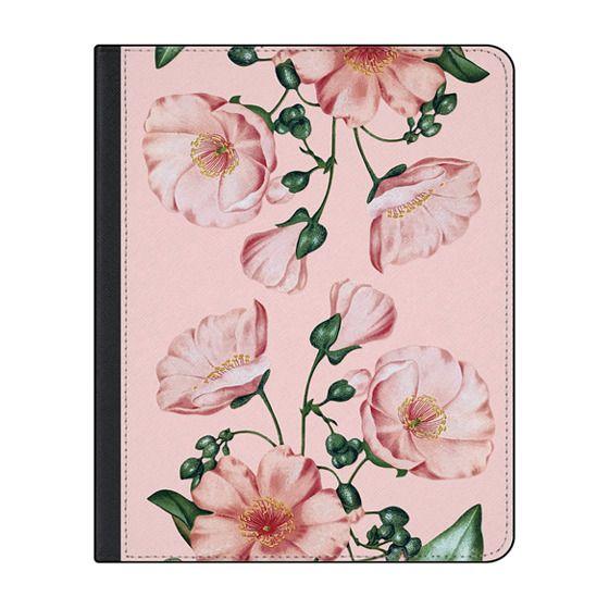 12.9-inch iPad Pro (2020) Covers - Pink Calandrinia